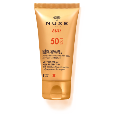 Nuxe sun  Солнцезащитный крем для лица SPF 50, 50 мл