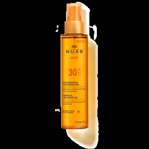 NUXE sun Защитное масло для загара для лица и тела SPF 30, 150 мл