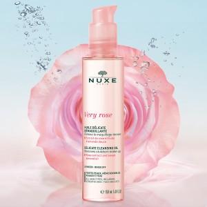 Very Rose Очищающее масло для снятия макияжа для лица и глаз. Для всех типов чувствительной кожи.
