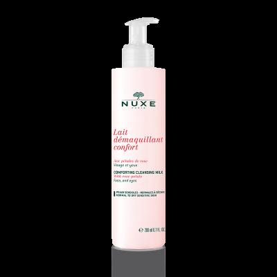 Rose Petals® Очищающее молочко для нормальной и сухой кожи, 200 мл.