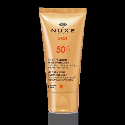 NUXE SUN тающий крем для лица SPF 50, 50 мл.