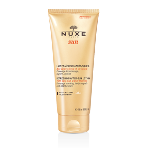 NUXE SUN освежающее молочко после загара, 200 мл.
