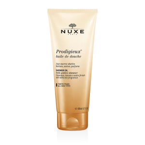 Prodigieux®   масло для душа с золотыми мерцающими частичками, 200 мл.